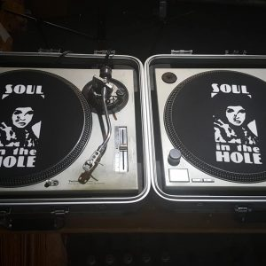 Soul in the Hole Turn Table Covers