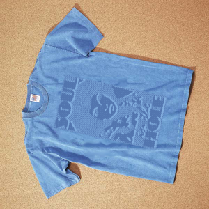 Soul in the Hole Stonewashed Embossed Tee